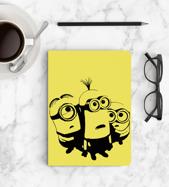 Notebook - Frightened Minions - Despicable Me/Minions