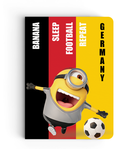 Limited Edition Notebook - Germany - Despicable Me/Minion