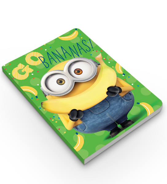 Notebook - Go Banana - Despicable Me/Minions