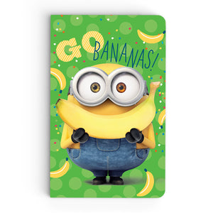 Thin Notebook - Go Banana - Despicable Me/Minions