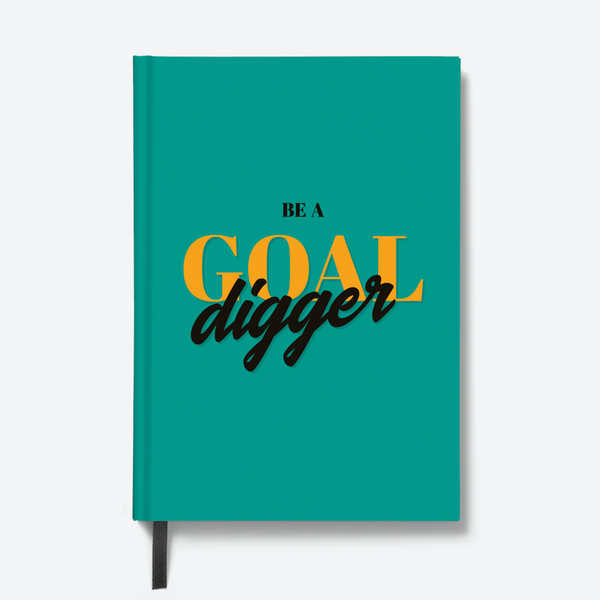 Goal Digger - HardBound Quote Notebooks
