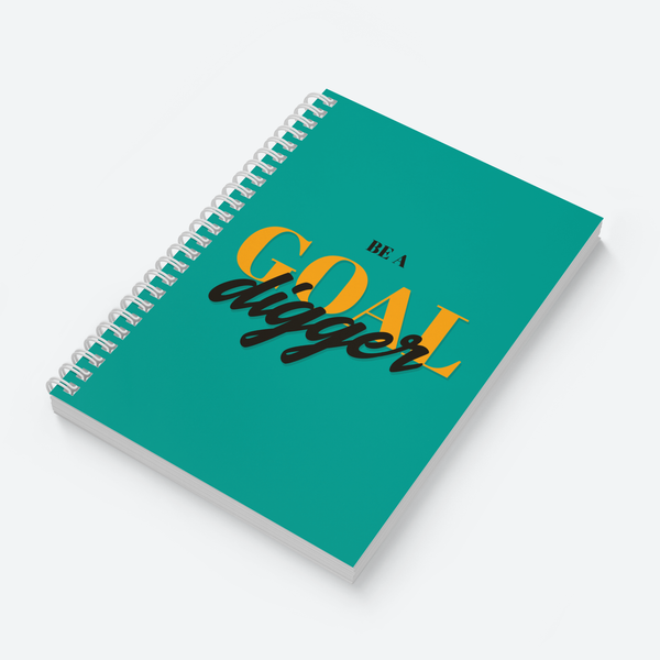 Goal Digger - Wiro Quote Notebooks