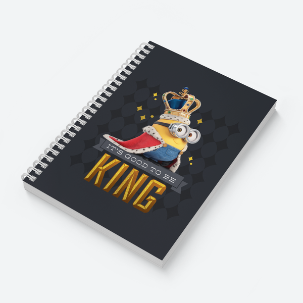 Wiro Notebook - It's Good To Be King - Despicable Me/Minions