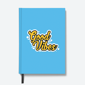 Good Vibes - HardBound Quote Notebooks