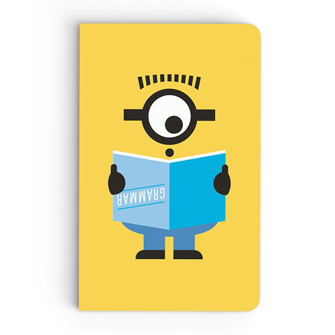 Thin Notebook - Grammer - Despicable Me/Minions