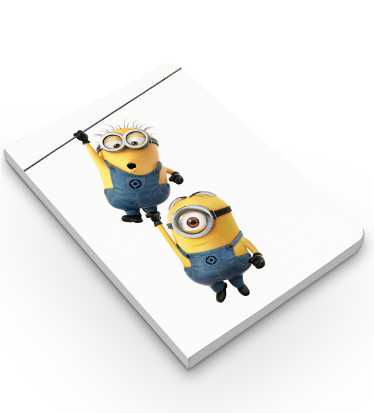 Softbound Notebook Minions hanging out