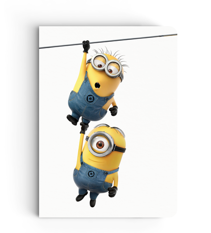 Notebook - Hang On - Despicable Me/Minions