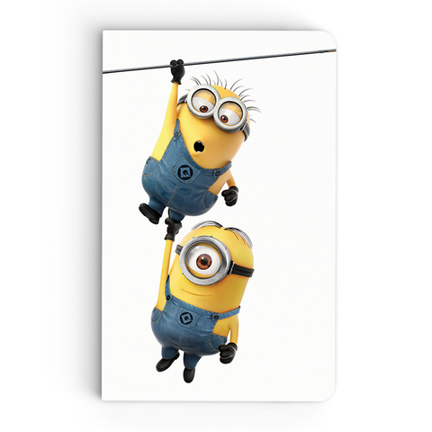 Thin Notebook - Hang On - Despicable Me/Minions