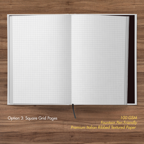 Kung Fu Panda- Hardbound Notebook- Awesome Panda- Square Grid Pages
