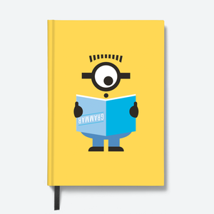 Flapbook Hardbound - Grammer - Despicable Me/Minions