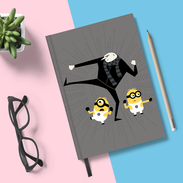 Flapbook Hardbound - Gru Break In - Despicable Me/Minions