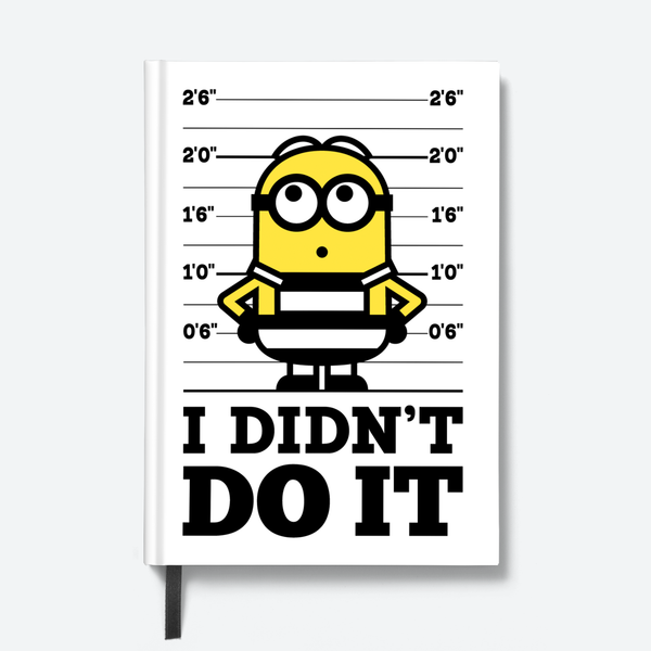 Flapbook Hardbound - I Didn't Do It - Despicable Me/Minions