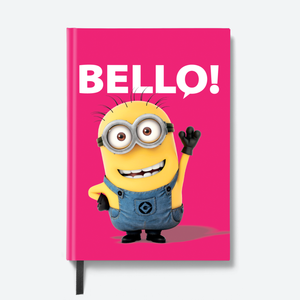 Flapbook Hardbound - Friendly Bello - Despicable Me/Minions