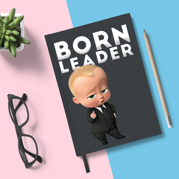 Flapbook Hardbound - Born Leader - Boss Baby