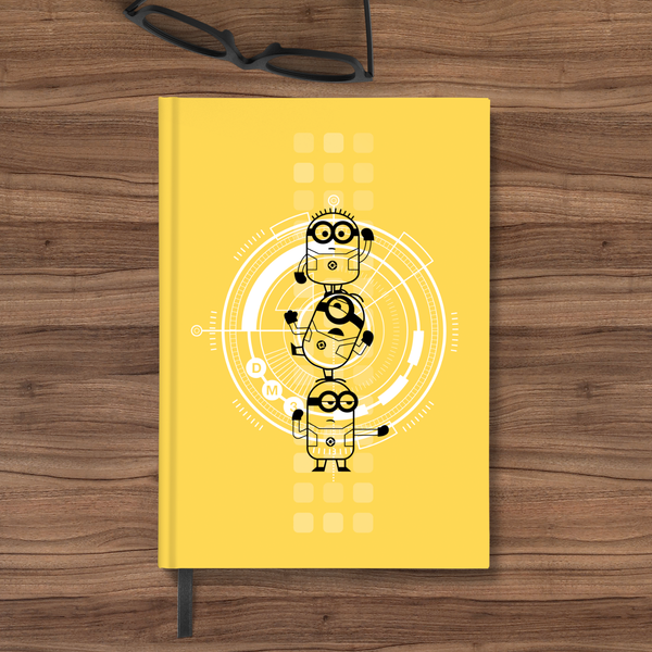 Flapbook Hardbound - Minions Stack - Despicable Me/Minions