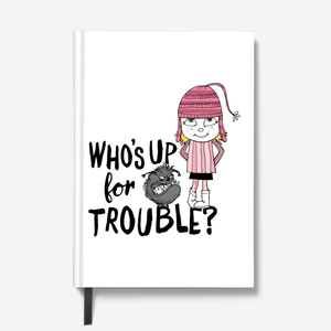 Despicable Me hardbound notebook- who's up for trouble