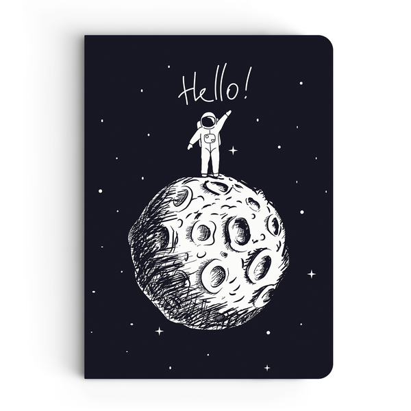 Hello & Lost in Space Combo - Pack of 2 - Softbound Notebooks
