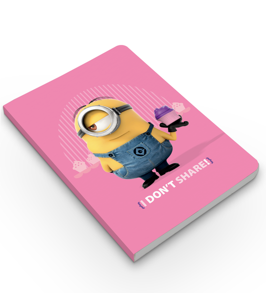 Softbound Notebook Minions-i don't share