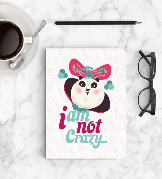 Notebook - I am not crazy… - Kung Fu Panda