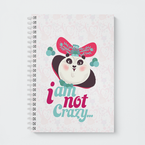 Wiro Notebook - I am not crazy… - Kung Fu Panda