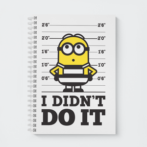 Flapbook Wiro - I Didn't Do It - Despicable Me/Minions