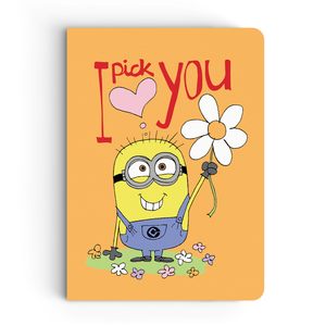 Limited Edition Notebook - I Pick You - Valentine's Day - Despicable Me/Minions