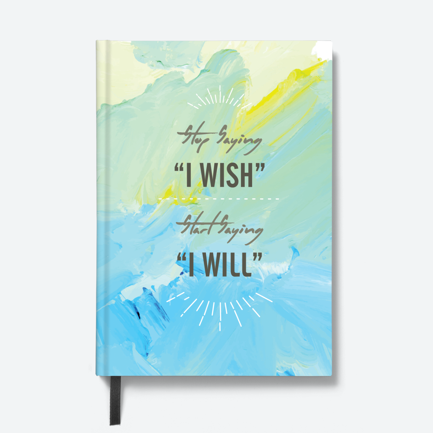 I Wish - HardBound Quote Notebooks