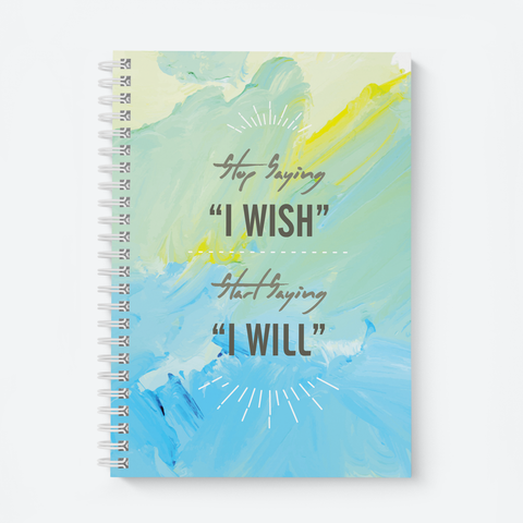 I Wish - Wiro Quote Notebooks