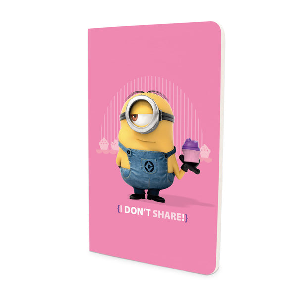 Thin Notebook - I Don't Share - Despicable Me/Minions