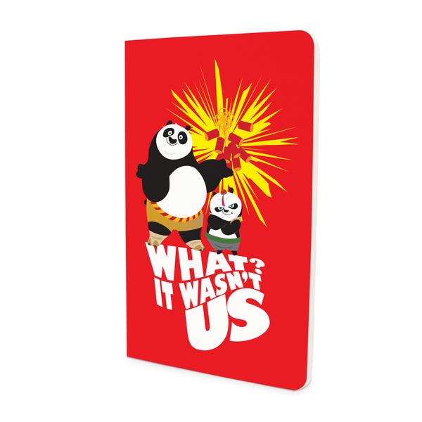 Thin Notebook - It Wasn't Us - Kung Fu Panda