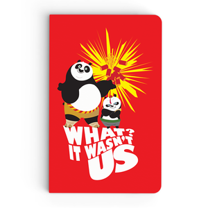 Flapbook Thin - It Wasn't Us - Kung Fu Panda