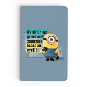 Thin Notebook - It's All Fun - Despicable Me/Minions