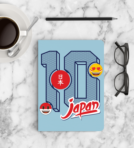 Limited Edition Notebook - Japan - Emoji Soccer Edition