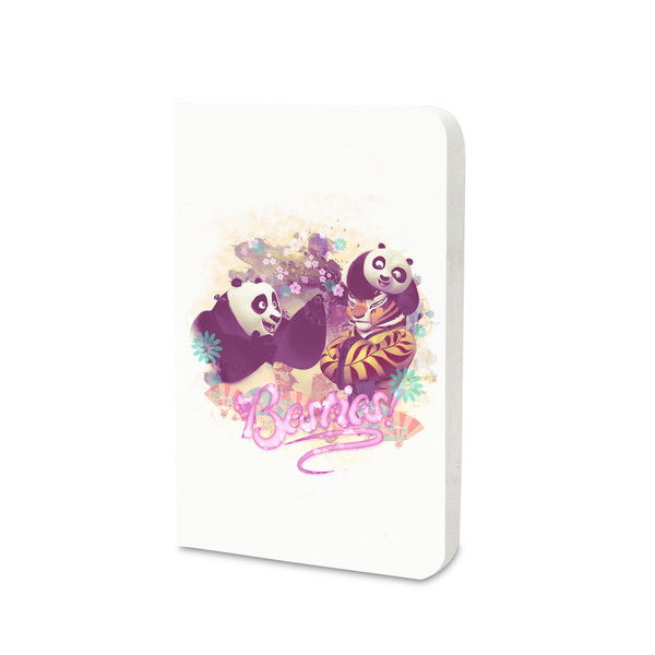 Flapbook Mini - Besties - Kung Fu Panda