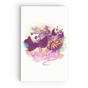 Thin Notebook - Besties - Kung Fu Panda