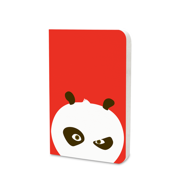 Flapbook Mini - Flat Art - Kung Fu Panda