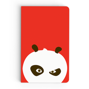 Thin Notebook - Flat Art - Kung Fu Panda