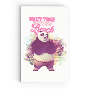 Thin Notebook - Next Time - Kung Fu Panda