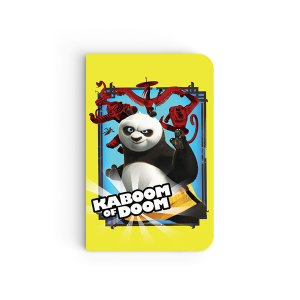 Flapbook Mini - Kaboom of Doom - Kung Fu Panda