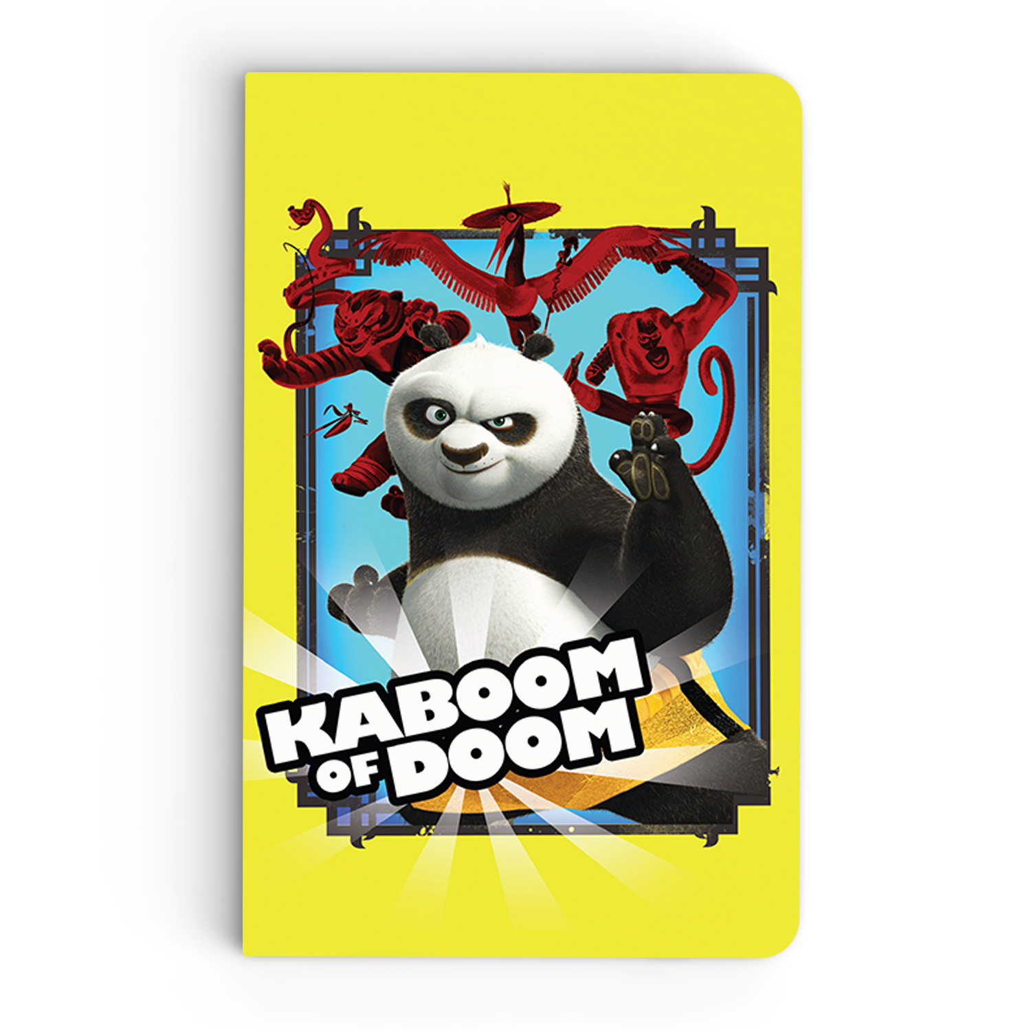 Thin Notebook - Kaboom of Doom - Kung Fu Panda