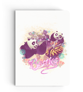 Notebook - Besties - Kung Fu Panda