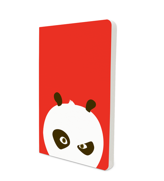 Notebook - Flat Art - Kung Fu Panda