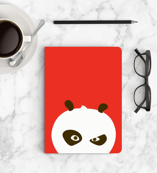 Softbound Notebook Kung fu Panda top view