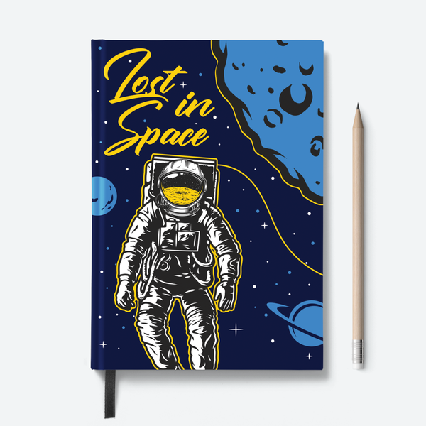 Hello & Lost in Space Combo - Pack of 2 - Hardbound Notebooks