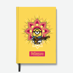 Hardbound Notebook - M for Minions - Despicable Me/Minions