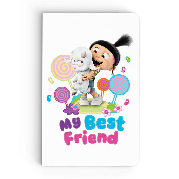 Thin Notebook - My Best Friend - Despicable Me/Minions