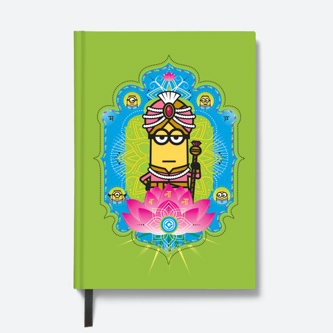 Hardbound Notebook - Maharaja Kevin - Despicable Me/Minions