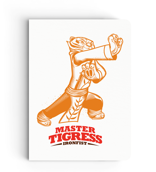 Flapbook - Master Tigress - Kung Fu Panda