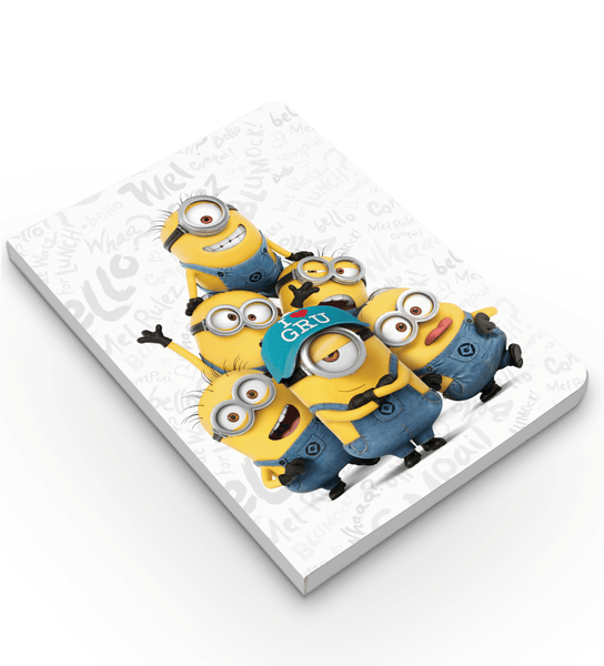Softbound Notebook Minions Family