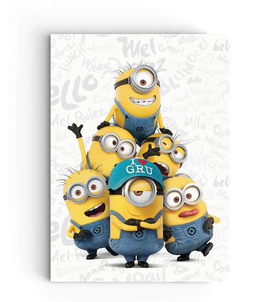 Softbound Notebook Minions
